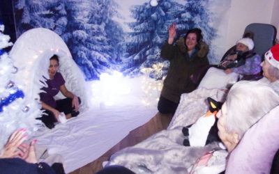 Singing in a Winter Wonderland at Loose Valley Care Home