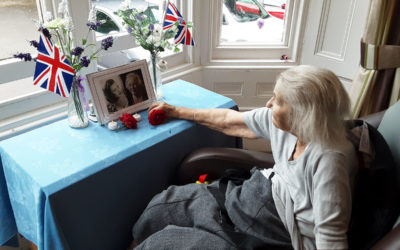 Loose Valley Care Home pays tribute to Dame Vera Lynn