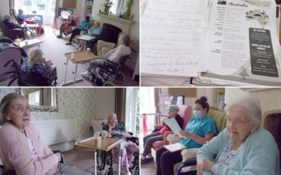 Quiz time at Loose Valley Care Home