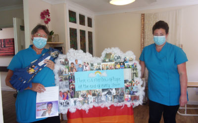Loose Valley Care Home win The Most Heart-warming Trolley Award