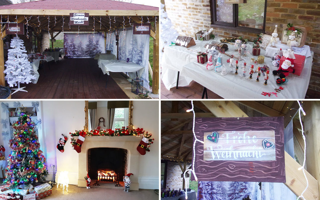 Loose Valley Care Home hosts German Christmas market