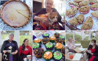 Halloween quiz and sweets treats at Loose Valley Care Home
