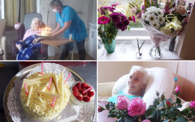 Many happy returns to Molly at Loose Valley Care Home