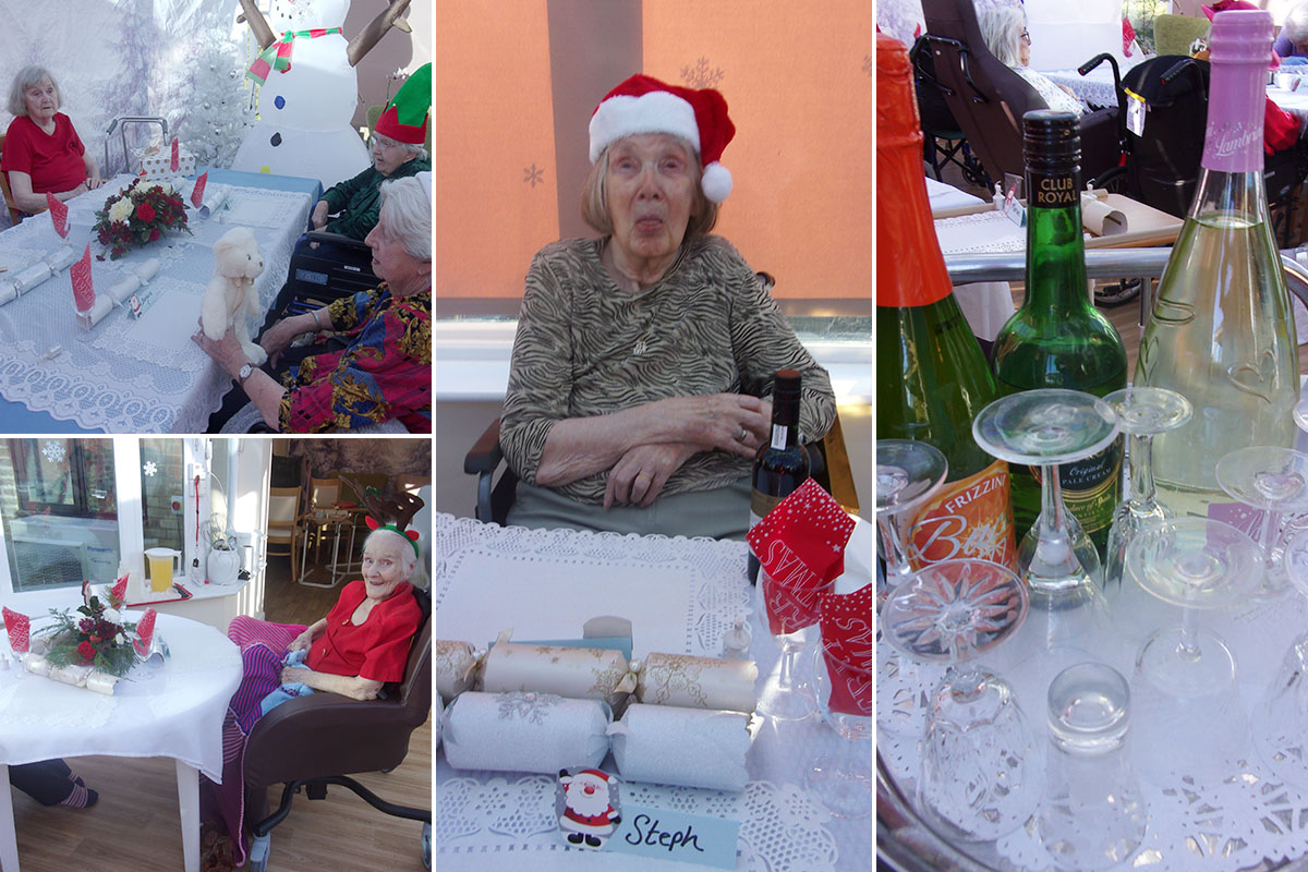 A merry Christmas at Loose Valley Care Home