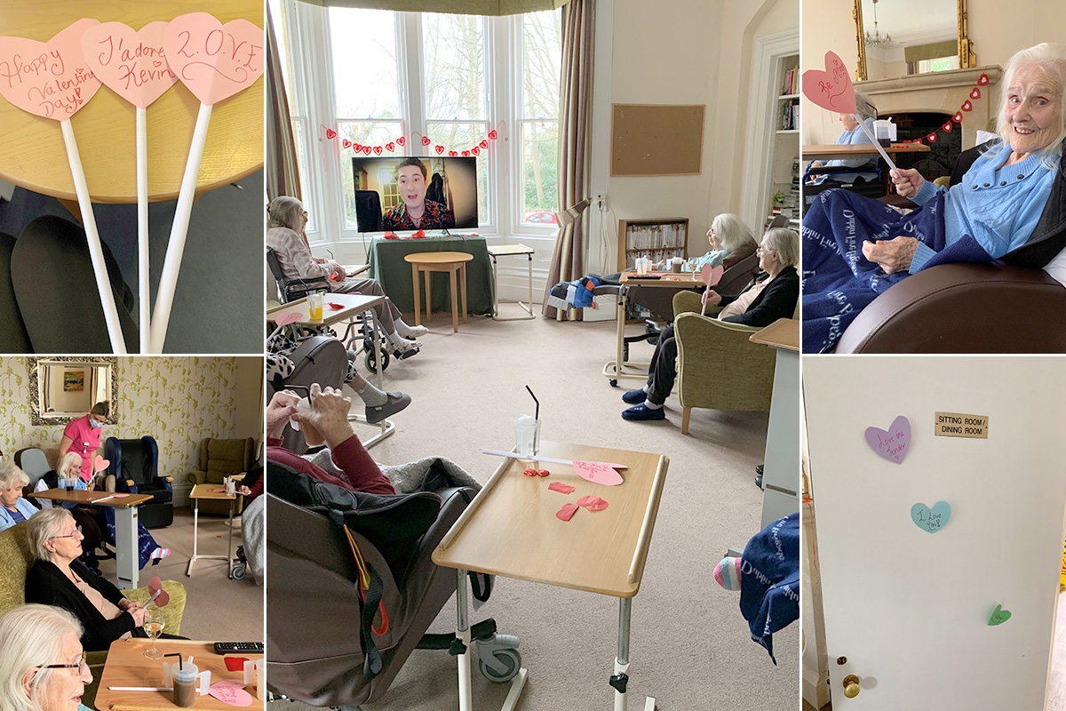 Kevin brings love and romance to Loose Valley Care Home