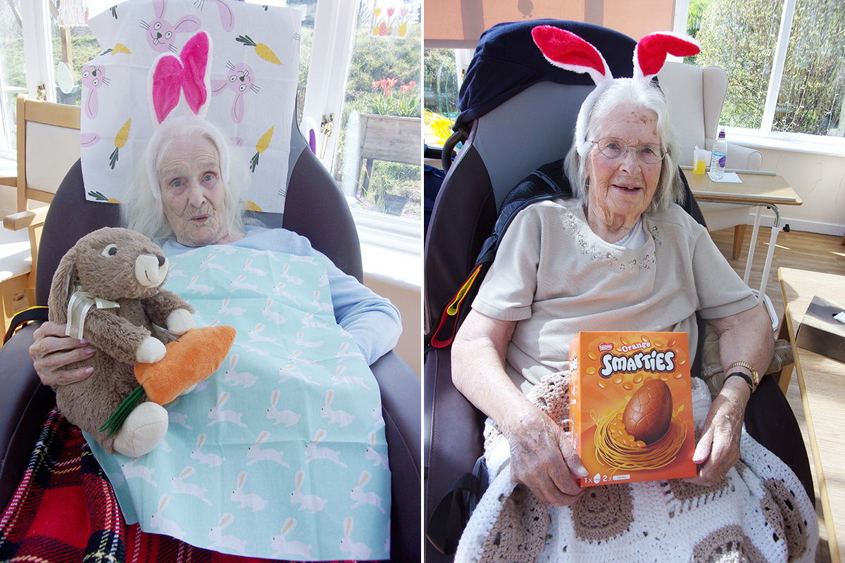 Easter fun at Loose Valley Care Home