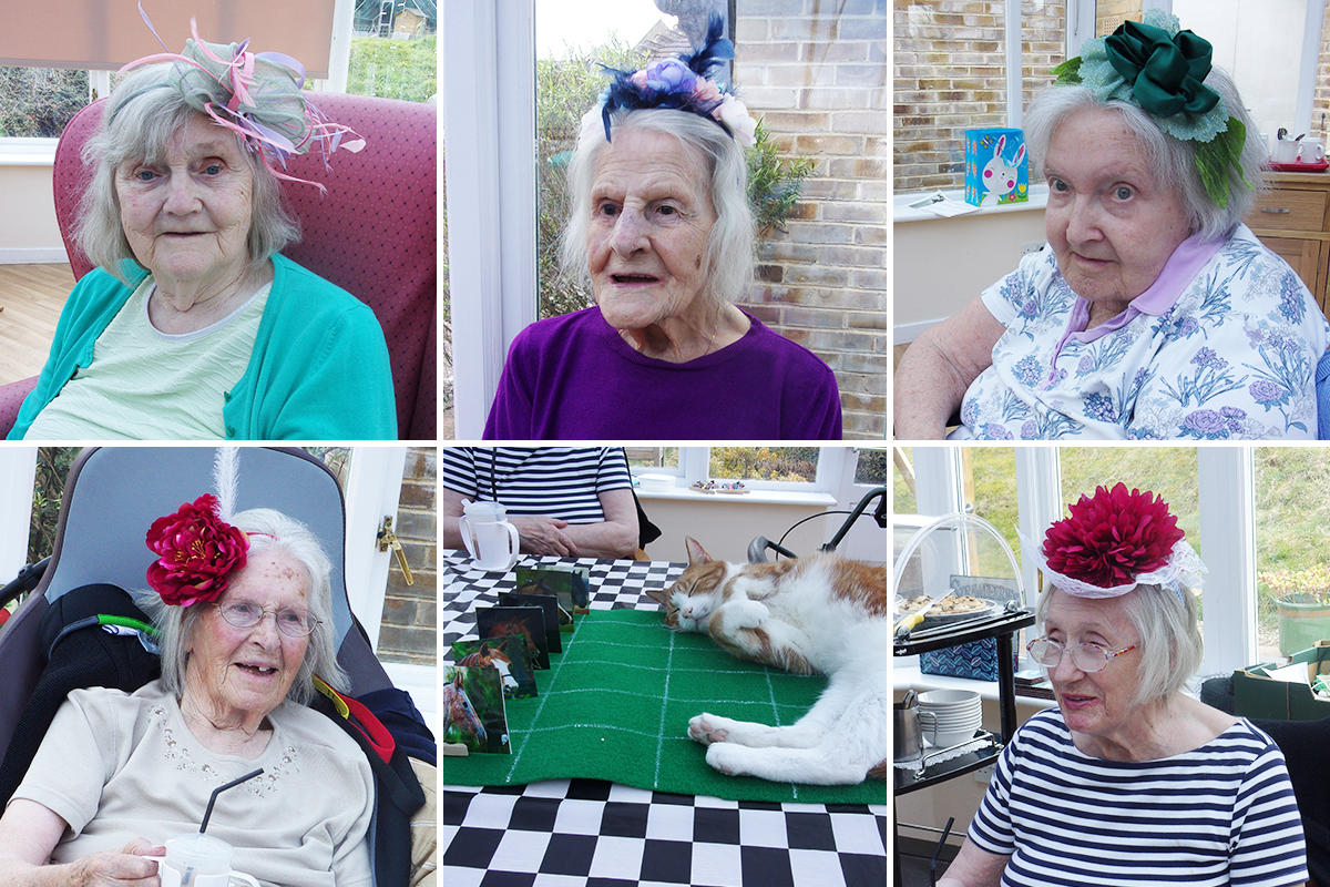 Loose Valley Care Home residents enjoy a Grand National Party