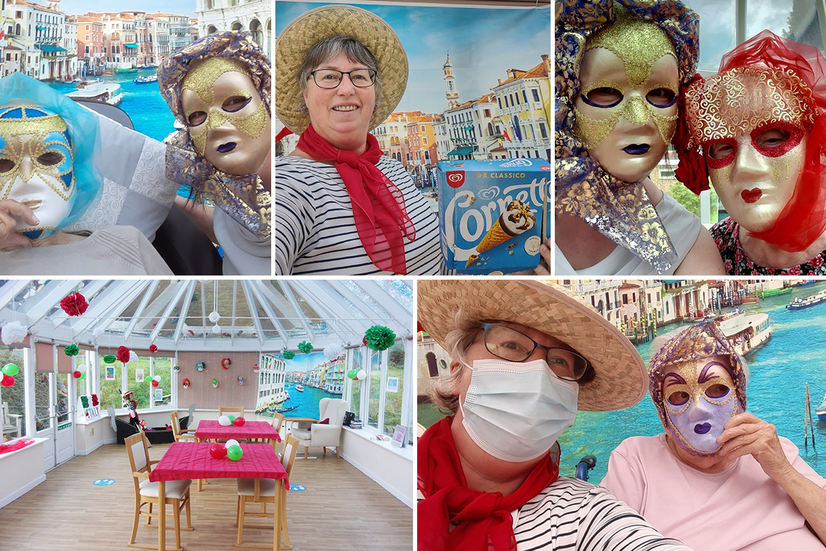 Italy Day in Venice at Loose Valley Care Home