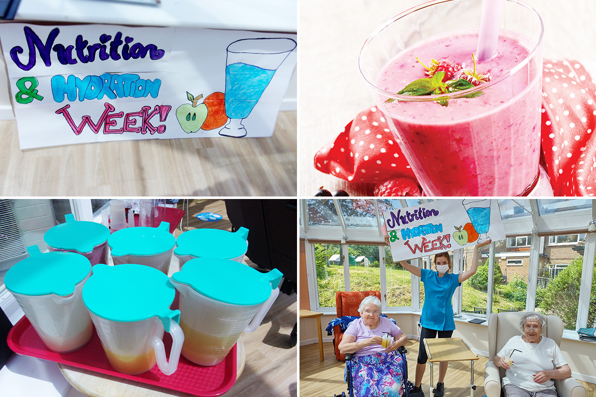Loose Valley Care Home celebrates Nutrition and Hydration Week