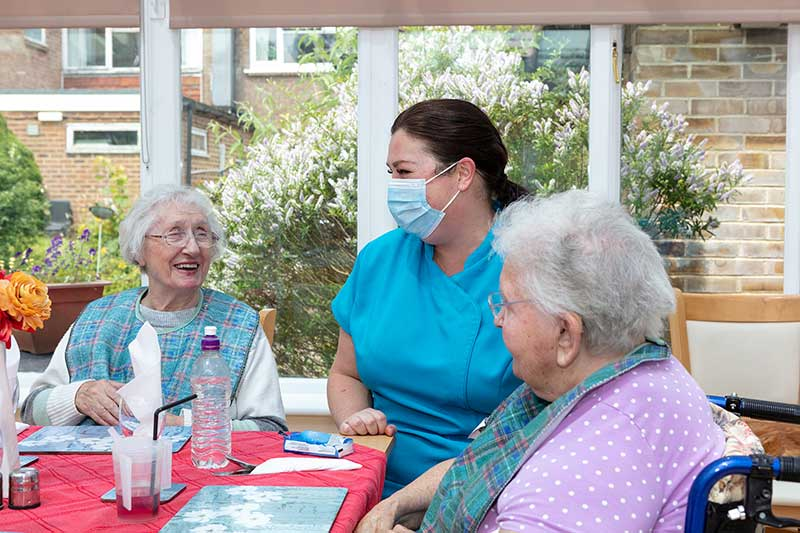 Loose Valley Care Home Residents