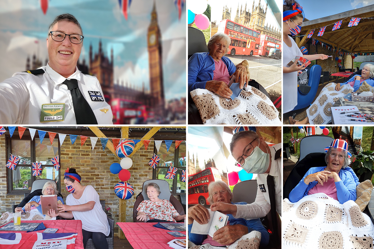 Cruising back to traditional English celebrations at Loose Valley Care Home